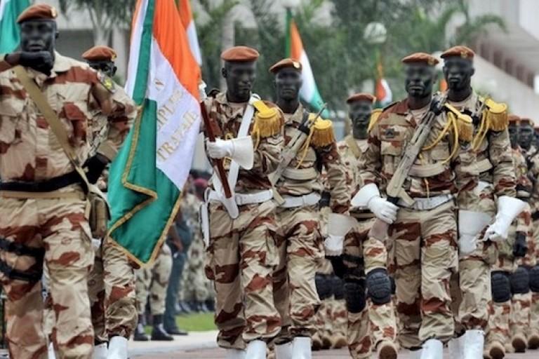 L' armée ivoirienne, sa dotation en arme créent la discorde