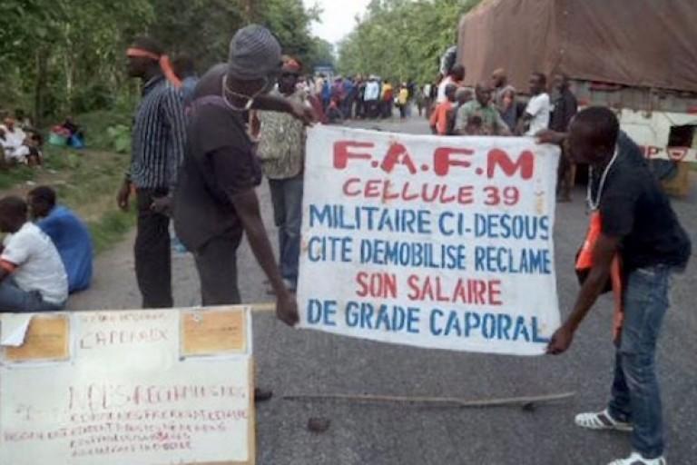 L'ultimatum des ex-combattants démobilisés de la Cellule 39 à Ouattara
