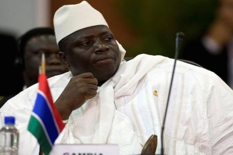 Yahya Jammeh, ancien président gambien
