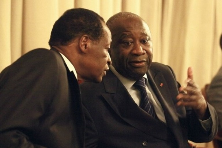 Laurent Gbagbo - Blaise Compaoré