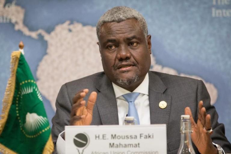 Moussa Faki, président de la Commission de l'