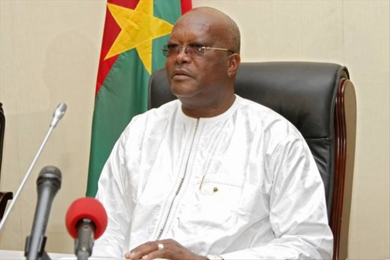 Roch Kaboré, président du comité permanent des Etats de lutte contre la sécheresse