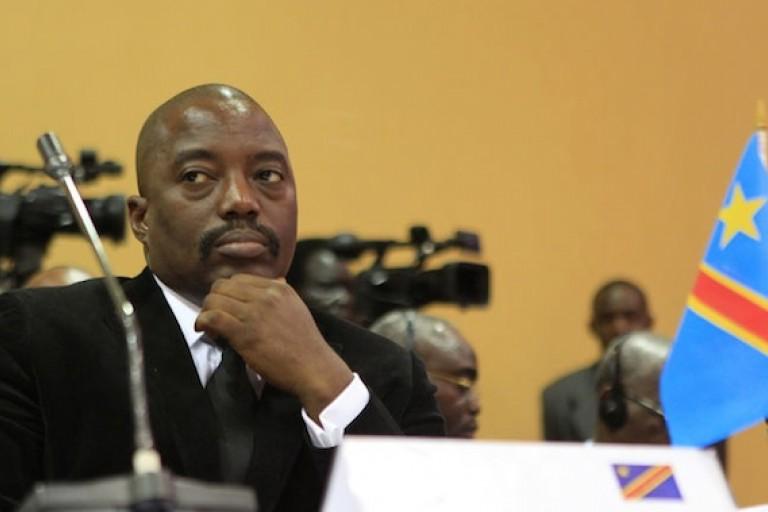 Joseph Kabila en conférence de presse avant les élections en RDC