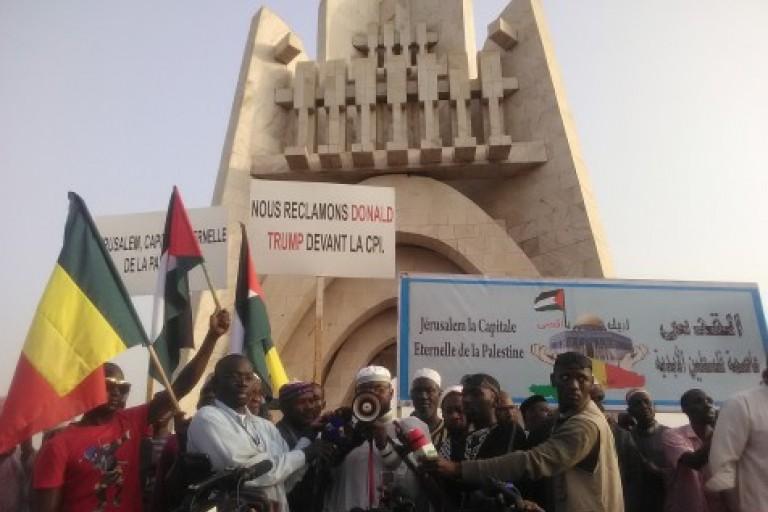manifestations de musulmans maliens