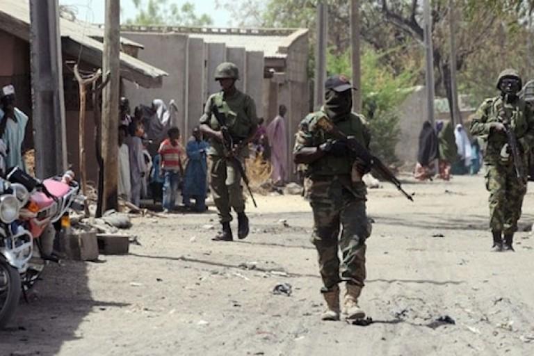 Des soldats camerounais dans les régions anglophones