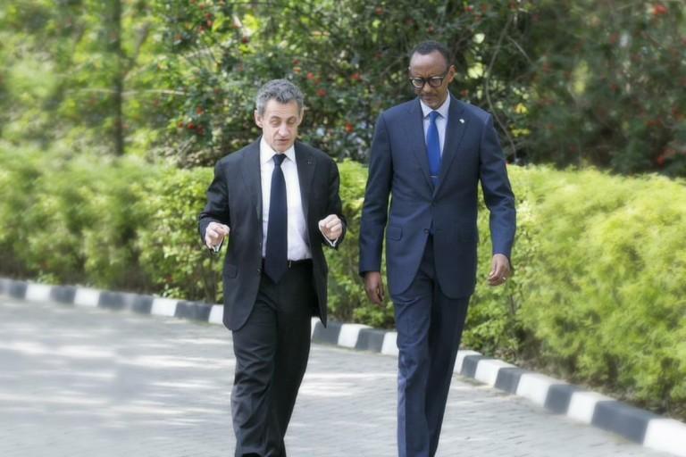 Nicolas Sarkozy au Rwanda chez Paul Kagamé