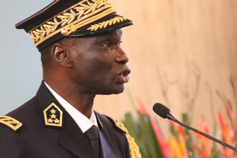 le général Sékou Touré