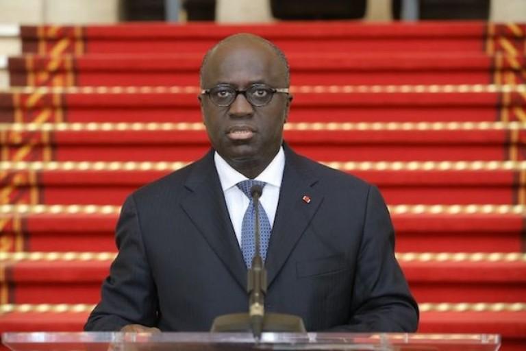 Marcel Amon Tanoh, ministre ivoirien des Affaires Etrangères