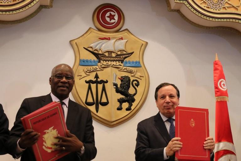Tunisair Mamadi Touré, ministre des Affaires étrangères guinéen