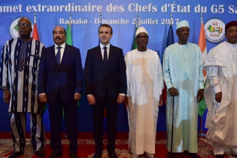 Les chefs d'Etat du G5 sahel
