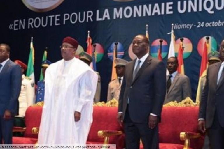 Les chefs d'Etat réunis au Ghana pour la création d'une monnaie unique de la CEDEAO