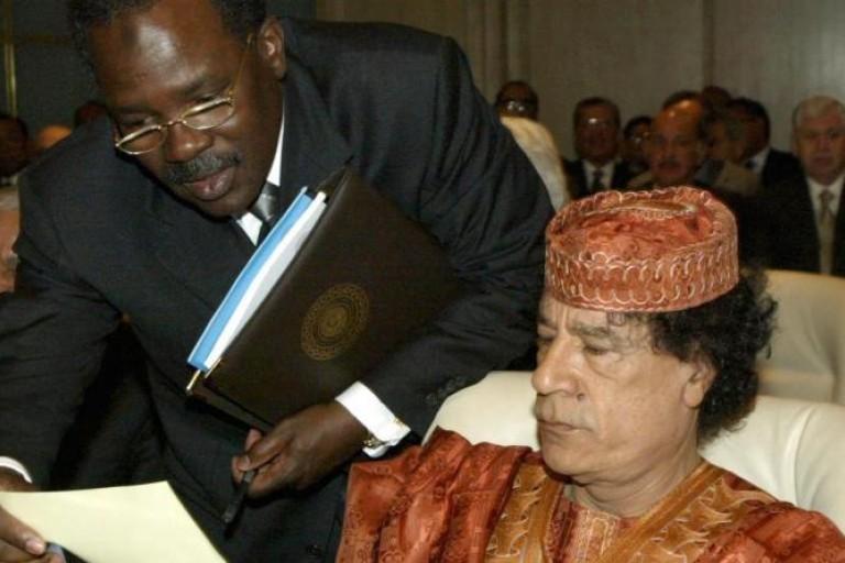 Kadhafi et Béchir Salah