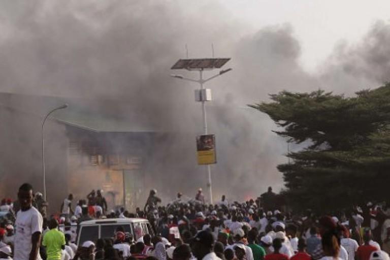 Violences post-électorales en Guinée