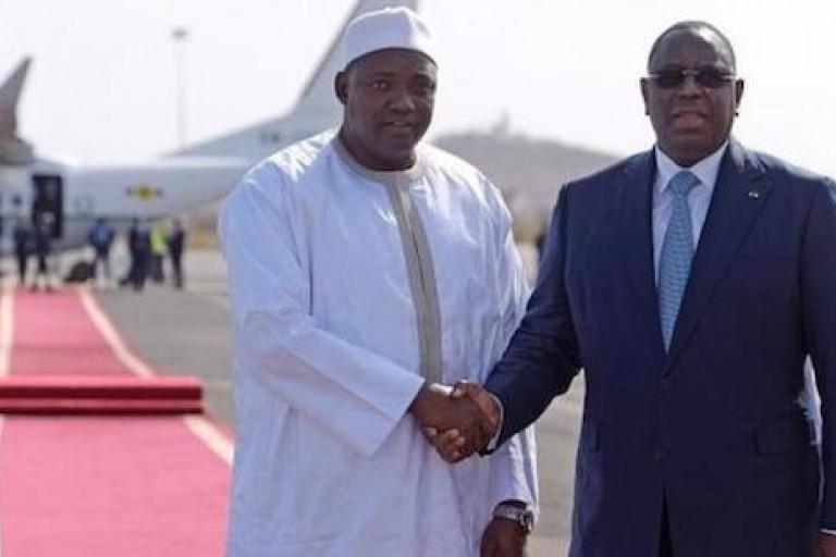 Macky Sall à Banjul pour renforcer la coopération entre la Gambie et le Sénégal