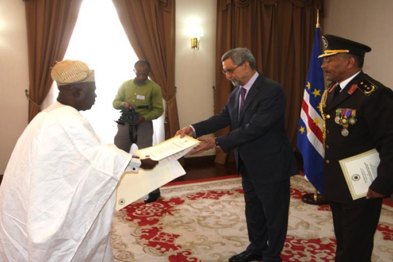 Adeyemy Afolahn , le nouvel ambassadeur du Nigeria au Cap Vert