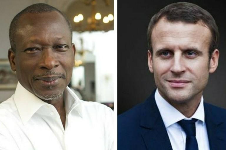 Patrice Talon à l'Elysée pour rencontrer Emmanuel Macron