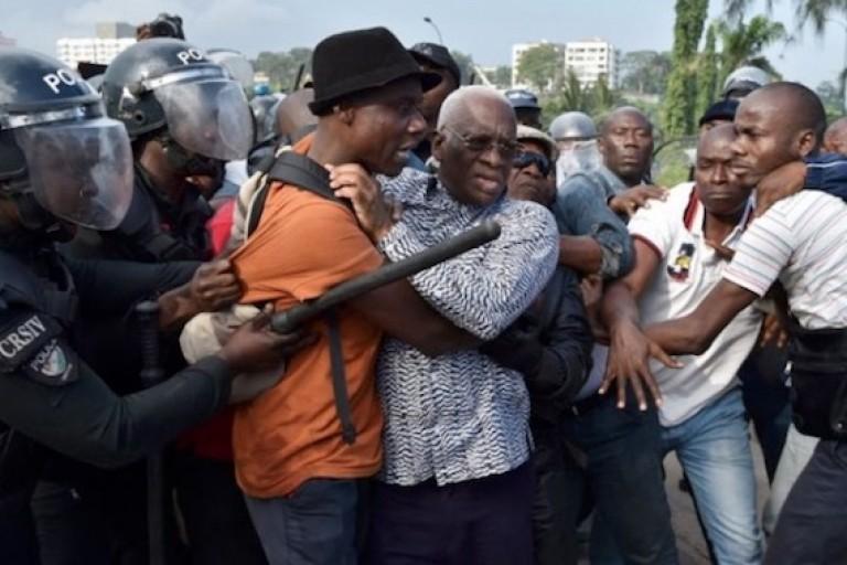 Diverses fortunes pour l'opposition à Abidjan. Alors qu'Ai N'Guessan est cajolé,  Sangaré est bousculé.