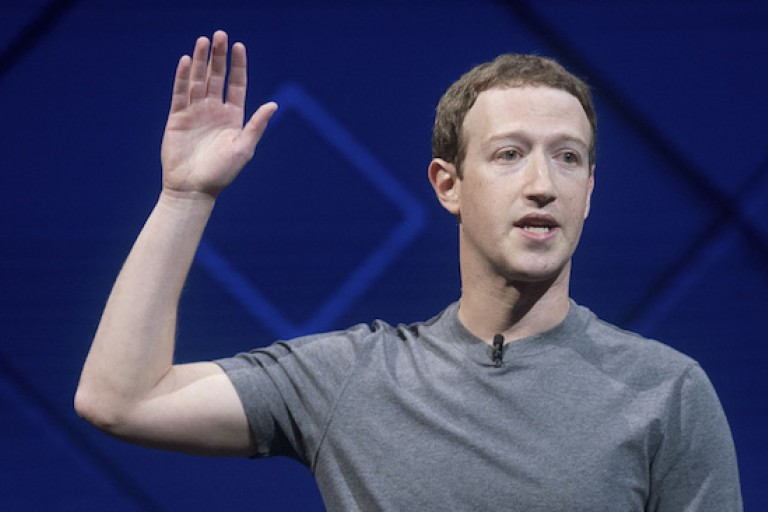 Mark Zuckengerg le CEO de Facebook