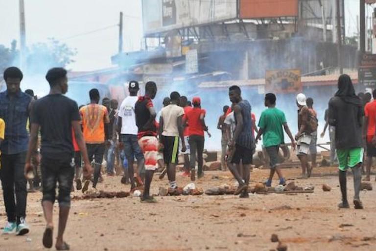 Les étrangers en danger en Afrique du sud.