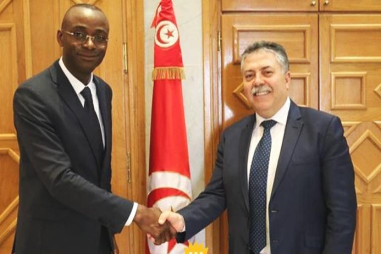 Tunisair, Sabri Bachtobji  et Emmanuel Ilunga