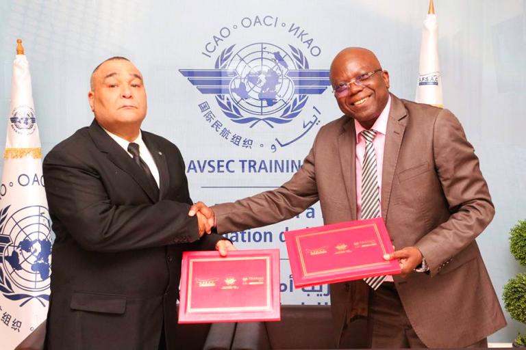 sûreté aéroportuaire en Afrique : l'AFSAC et l'ERNAM renforcent la collaboration