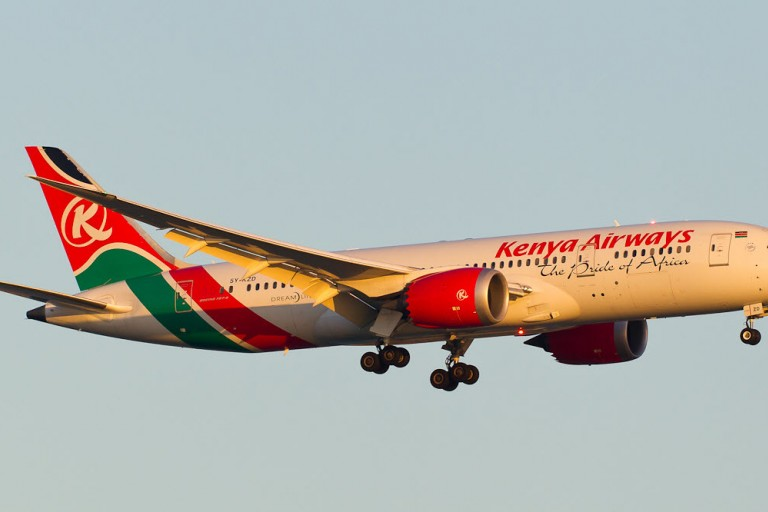 Kenya Airways choisit Total Air Logistics Limited  comme GSA
