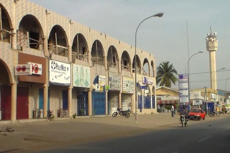 La sécurité renforcée autour du marche de gros de Bouaké