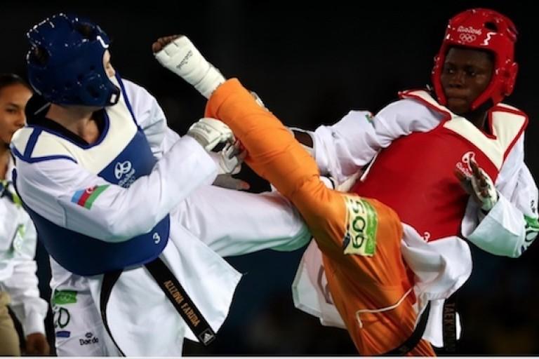 Le taekwondo en essor en Côte d'Ivoire