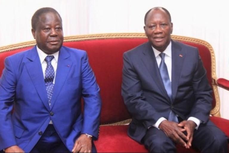 Ouattara et Bédié daccord pour le parti unifié, des cadres PDCI  s'opposent