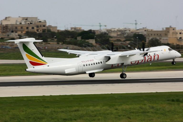 Ethiopian Airlines commande 10 Bombardier Q400