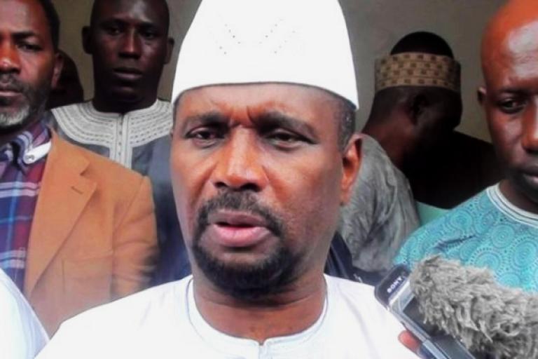 Aboubacar Sylla, ancien porte-parole de l'opposition guinéenne est le nouveau ministre des Transports avec rang de ministre d'État