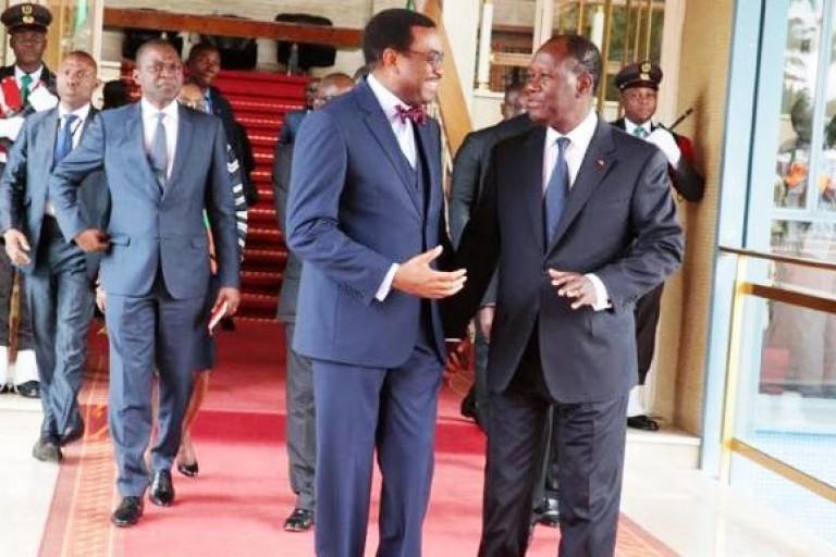 Adesina (BAD) interpelle Ouattara sur l'endettement en devises étrangères