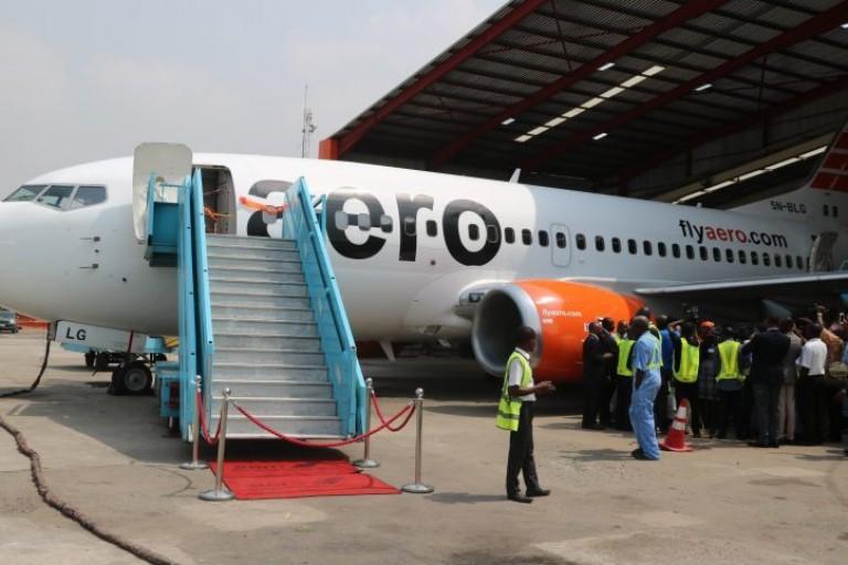 Aero Contractors:première visite technique de classe C sur l'un de ses Boeing 737 classique
