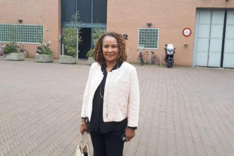 Boni Claverie,la présidente de URD