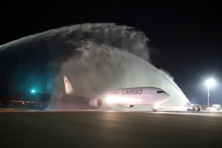 Royal air Maroc a pris possession de son nouveau Boeing B767-300 Freighter