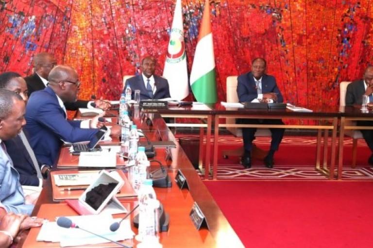 Conseil Présidentiel consacré à la Politique forestière présidé par Alassane Ouattara
