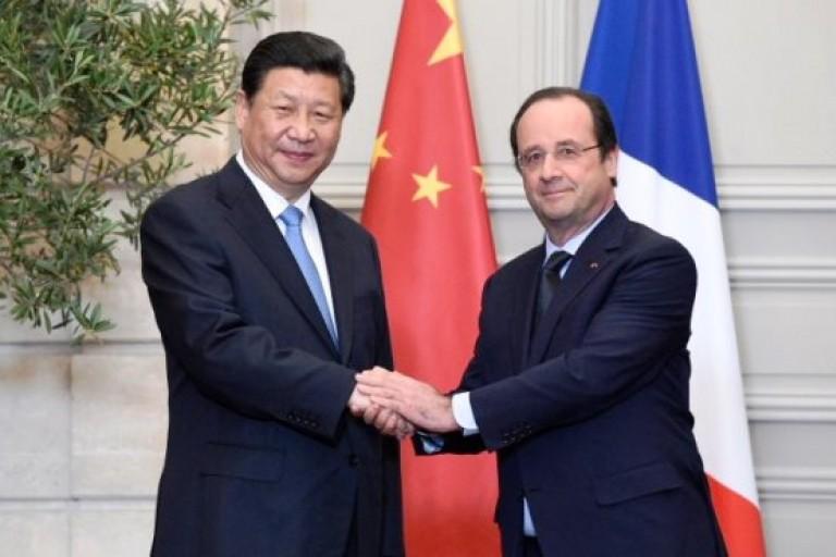 Xi Jinping et François Hollande en parfaite communion