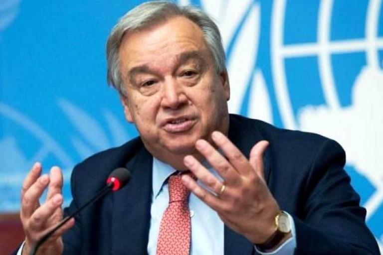 Antonio Guterres annonce un renforcement des soldats onusiens au centre du Mali
