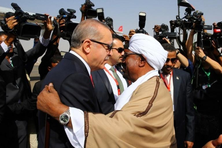 Soudan, president du Soudan et de la Turquie