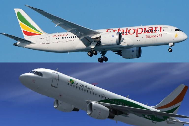 Air Côte d'Ivoire partage désormais ses codes avec Ethiopian Airlines