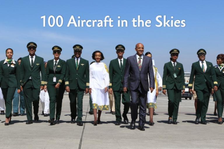 Ethiopian Airlines prendra possession de son 100e avion le mois prochain