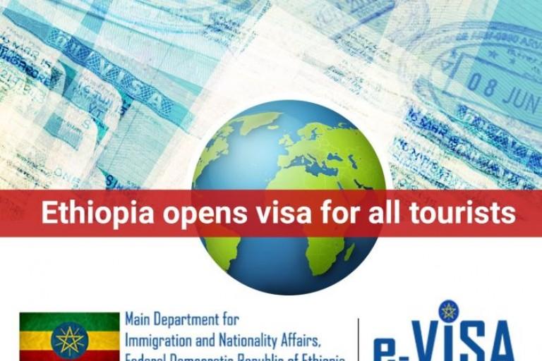 Éthiopie : Les E-visas  disponibles pour tous les visiteurs