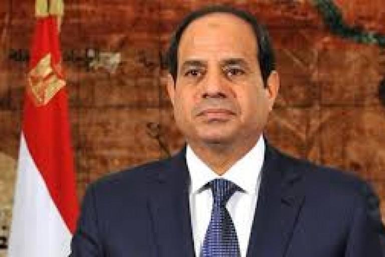 Abdel Fattah Al-Sissi, le président égyptien