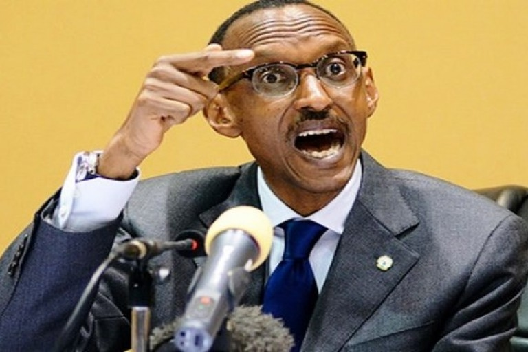 Paul Kagamé pour l'indépendance de l'Afrique