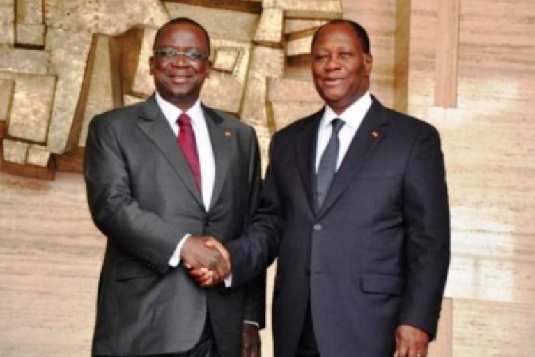 Ahoussou-Kouadio, colistier de Ouattara en 2020