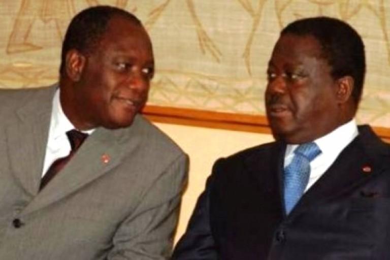 Clash inévitable entre Alassane Ouattara et Henri Konan Bédié