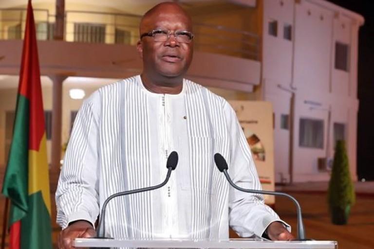 Roch Kaboré, président du Burkina
