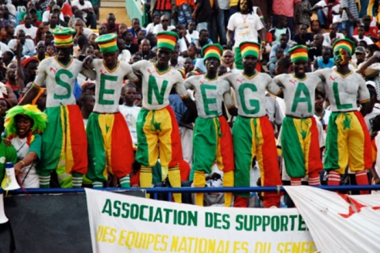 Les supporters sénégalais font sensation en Russie