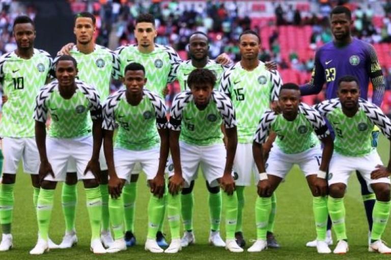 Les Super Eagle du Nigeria gonflés à Bloc contre l'Argentine de Messi