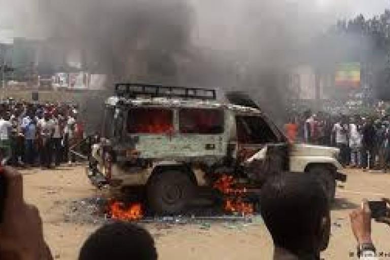 Explosion en Ethiopie